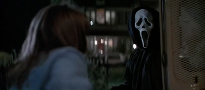 Ghostface in Scream 1