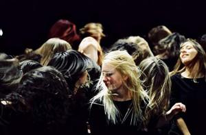 slowenische Vocal Theatre Carmina Slovenica