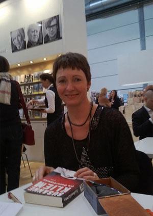 Susanne Kliem auf der Leipziger Buchmesse