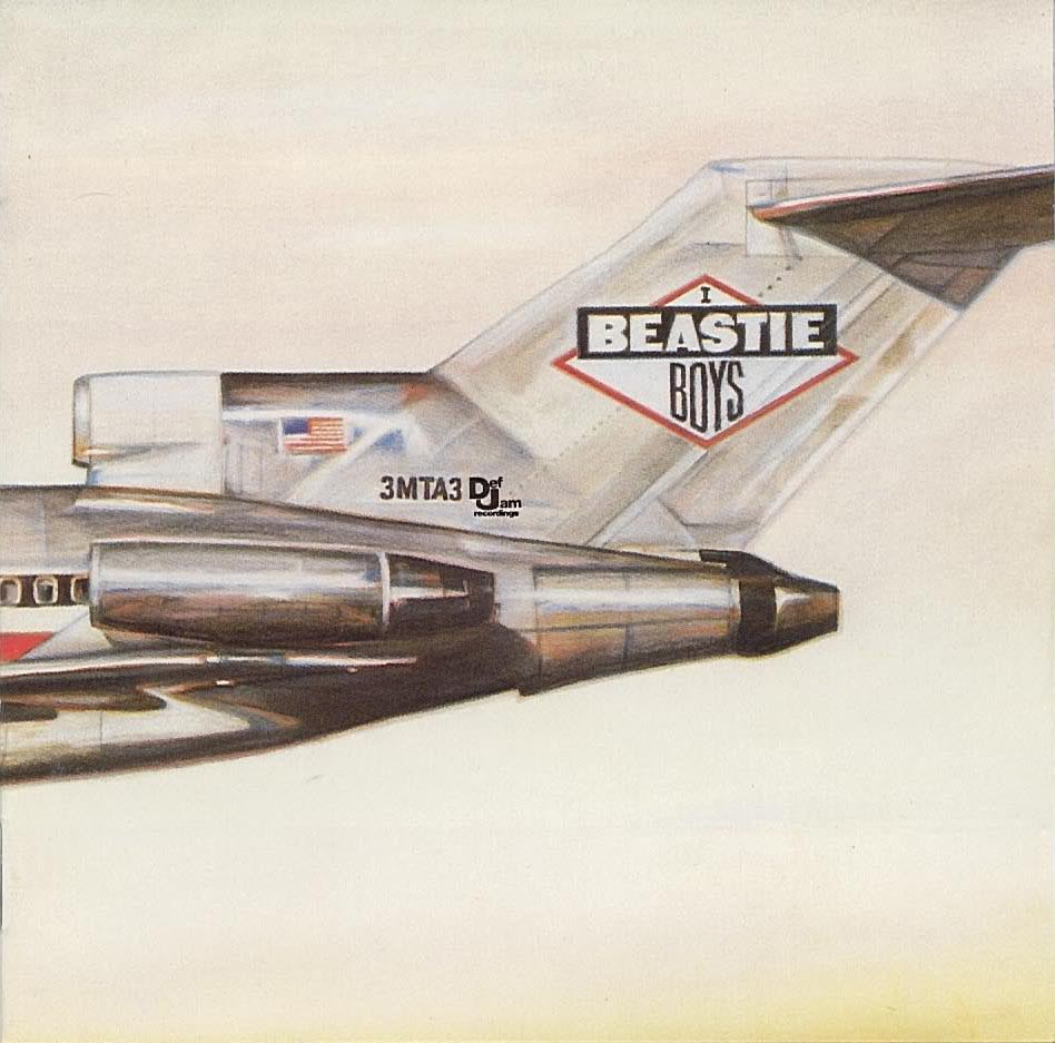 Album Cover License to Ill von den Beastie Boys