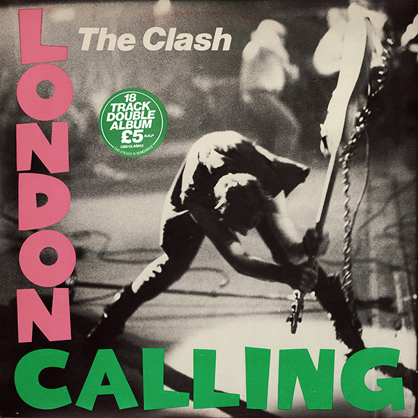 Album Cover London Calling von The Clash