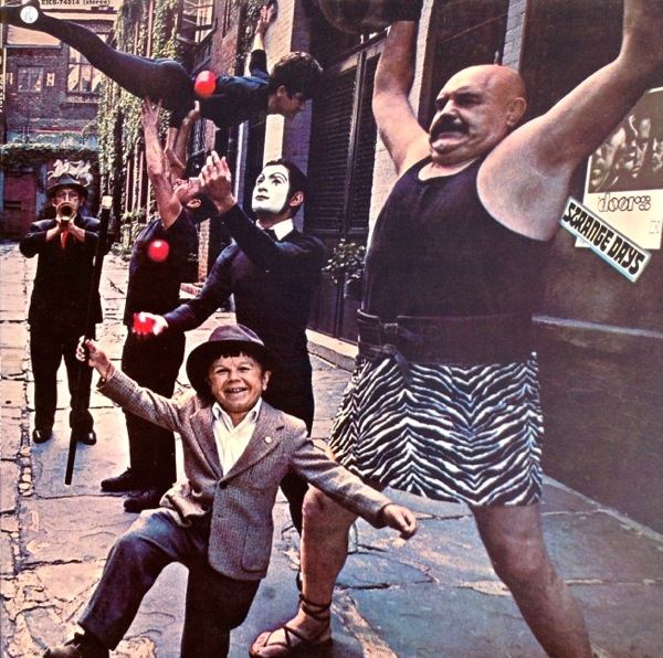 Album Cover Doors, The - Strange Days