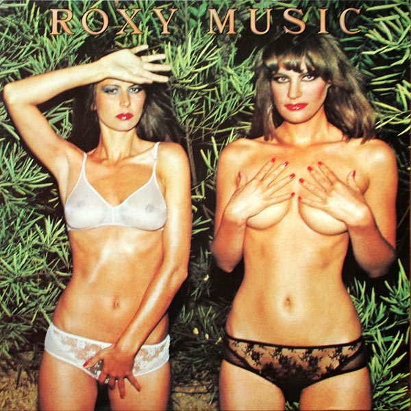 Album Cover Country Life von Roxy Music