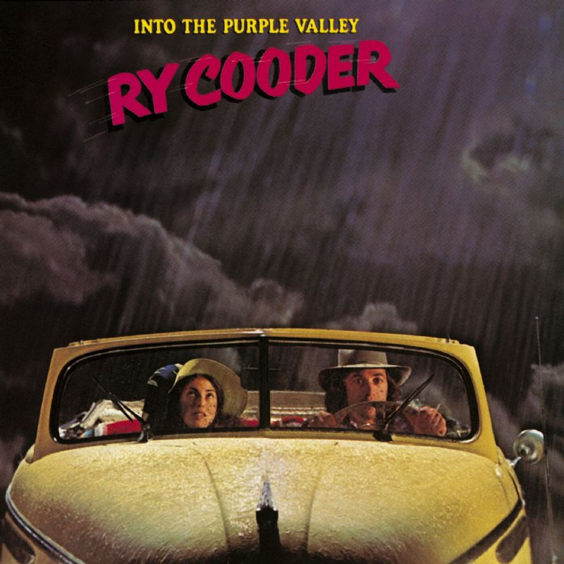 Album Cover Into the Purple Valley von Ry Cooder