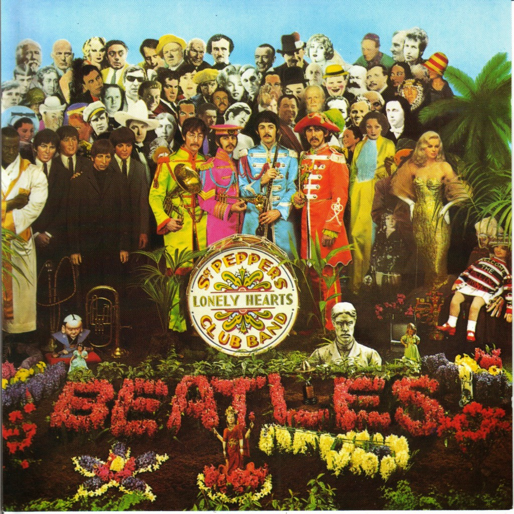 Album Cover Sgt. Pepper's Lonely Hearts Club Band von The Beatles