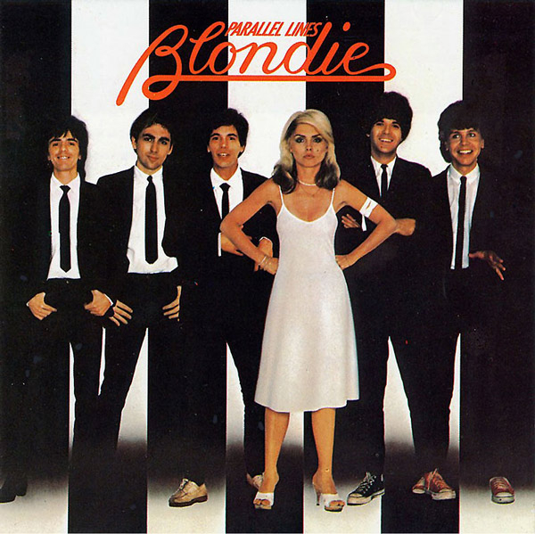 Parallel Lines Blondie Album Cover