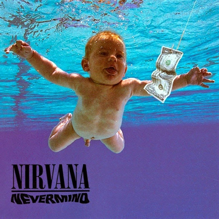 Album Cover Nevermind von Nirvana