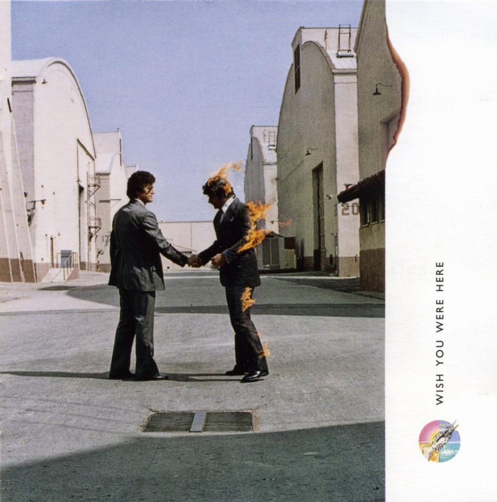 Albumcover Wish You Were Here von Pink Floyd:
