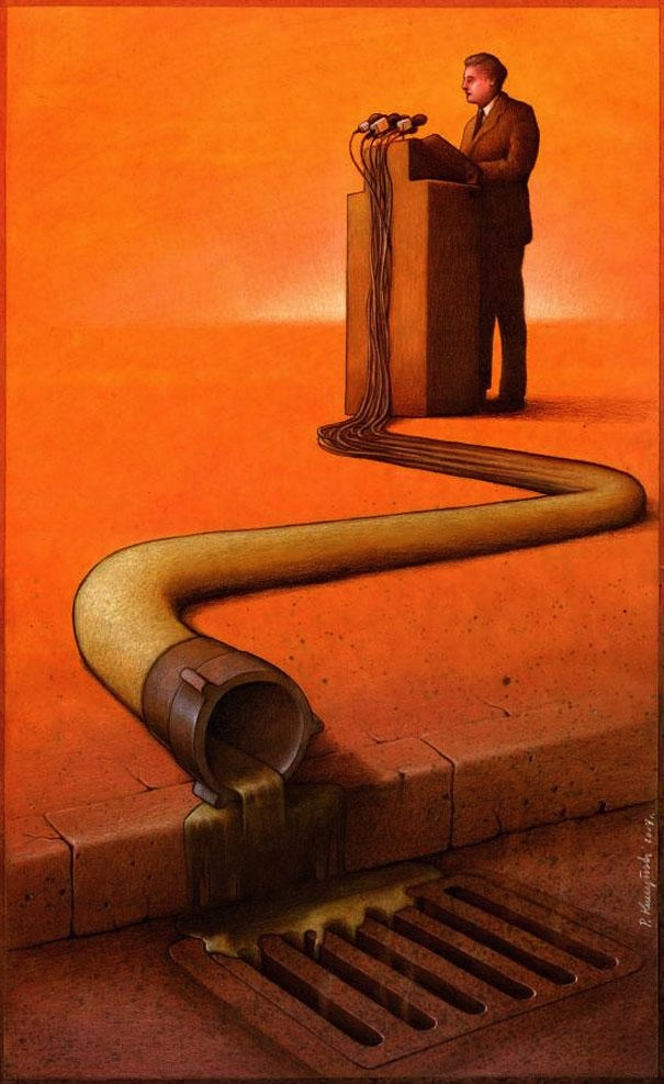 Illustration by Pawel Kuczynski
