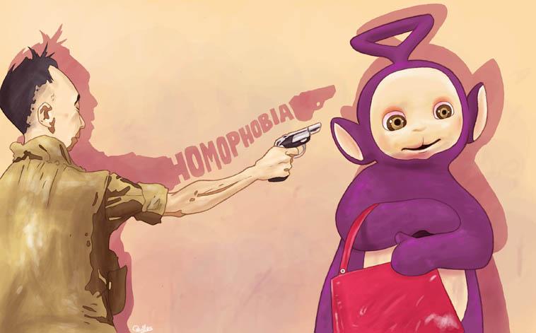 Against Homophobia by Gunsmithcat