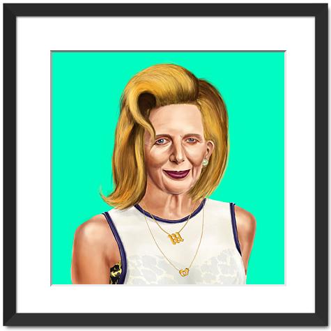 Hipster Margaret Thatcher