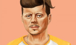 Hipstory: Berühmte Persönlichkeiten als Hipster