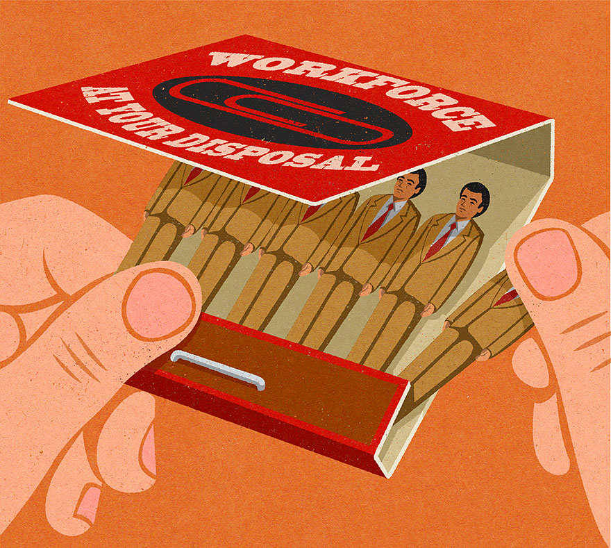 Illustration by John Holcroft