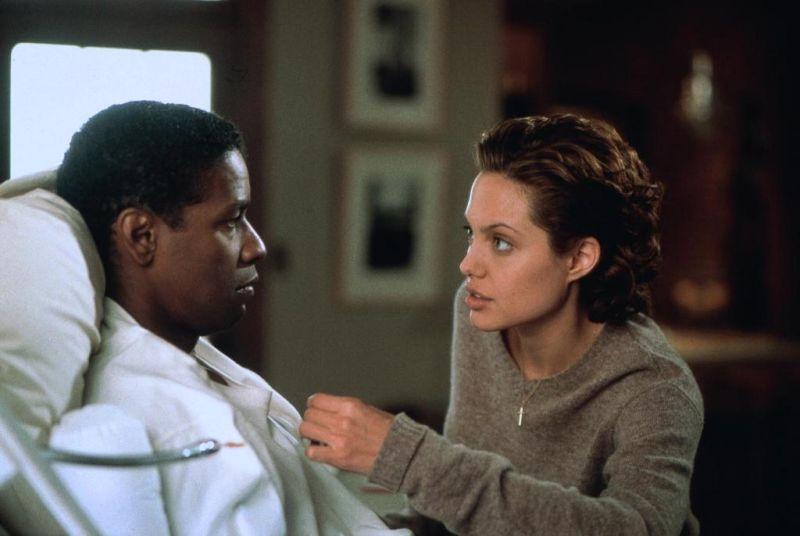 Denzel Washington und Angelina Jolie