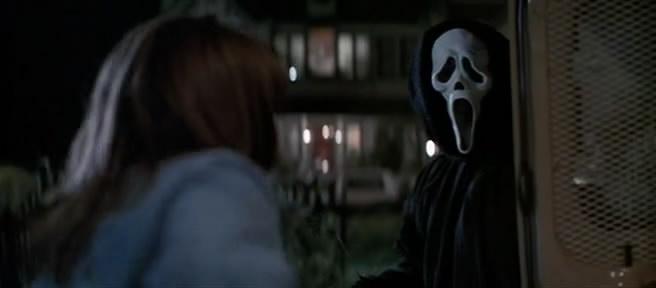 Ghostface in Scream 1