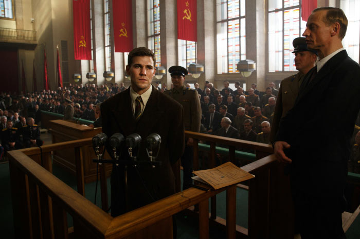 Francis Gary Powers vor einem sowjetischen Gericht