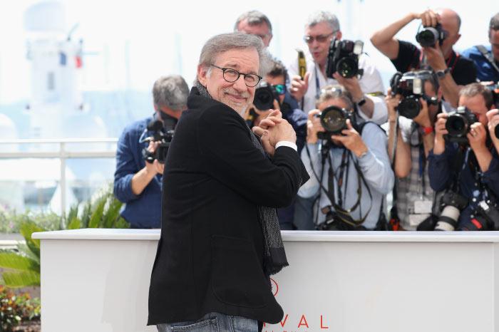 Steven Spielberg auf der Premieres seines neuesten Films auf den Filmfetspielen von Cannes