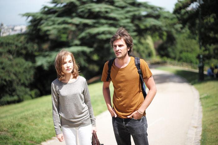 Nathalie mit Fabien, ihr Lieblingsschüler