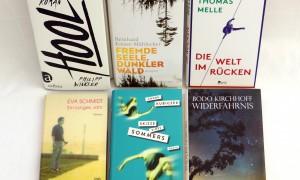 Deutscher Buchpreis 2016: Die sechs Finalisten