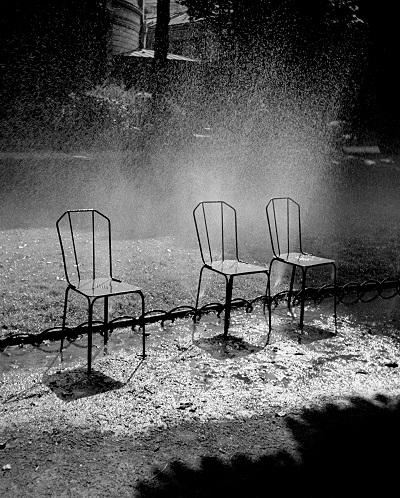 Drei Stühle Fred Stein