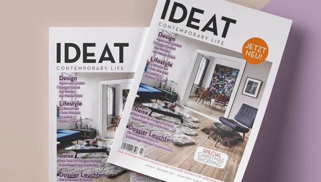 Medientipp – IDEAT Magazin für Interior Design und Urbanen LifeStyle