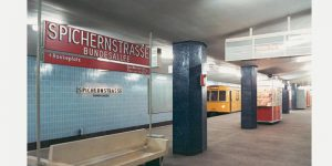 U-BAHNARCHITEKTUR in Berlin von 1953–1994