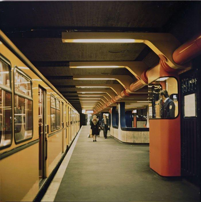 U-Bahn Architektur in Berlin
