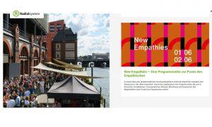 New Empathies – eine Programmmreihe zur Praxis des Empathischen