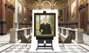 »Selbstbildnis Florenz« von Max Beckmann im Besitz der Hamburger Kunsthalle