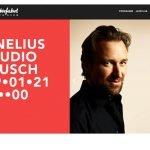 Pianist Cornelius Claudio Kreusch im Livestream