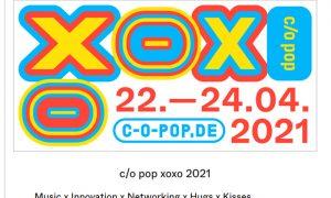 c/o pop xoxo 2021 präsentiert digitales Festival-Programm
