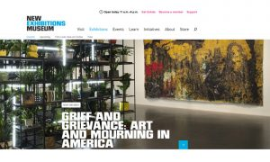 "Grief and Grievance: Art and Mourning in America"" The New Museum"
